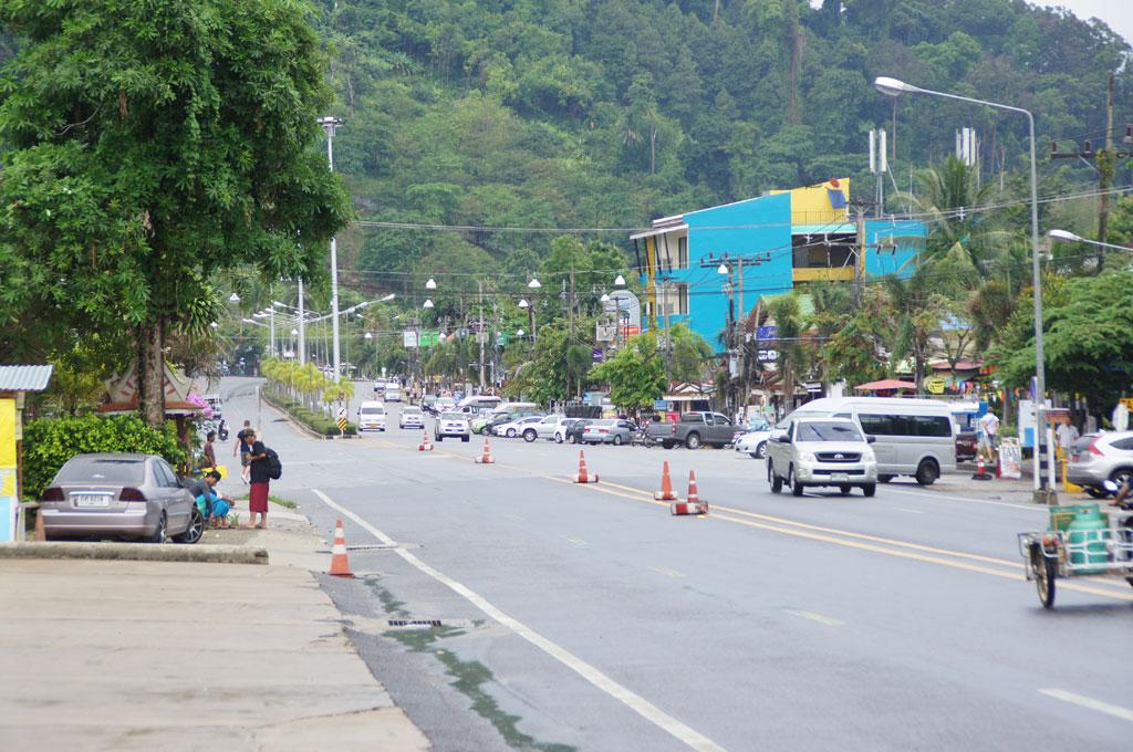 Innenstadt von Khao Lak