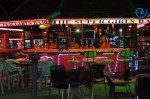 Nachtleben in Thailand an Bars
